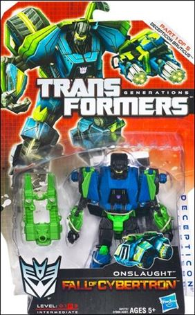 Transformers: Generations (Deluxe Class) Series 2 Onslaught (Fall of Cybertron)