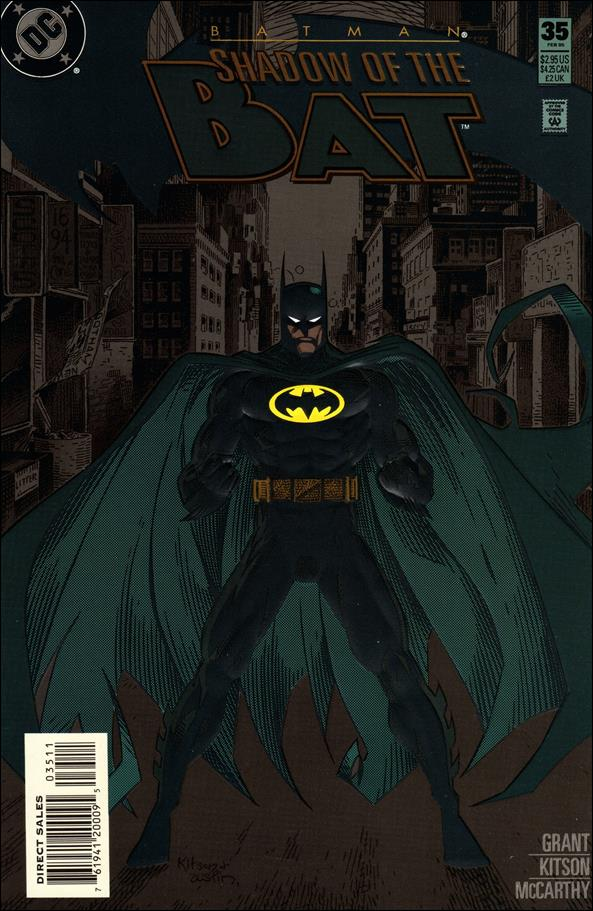 Batman: Shadow of the Bat 35-A by DC