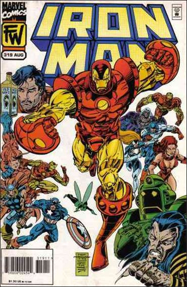 Iron Man (1968) 319-A by Marvel