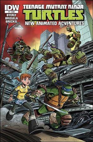 Teenage Mutant Ninja Turtles New Animated Adventures 1-A