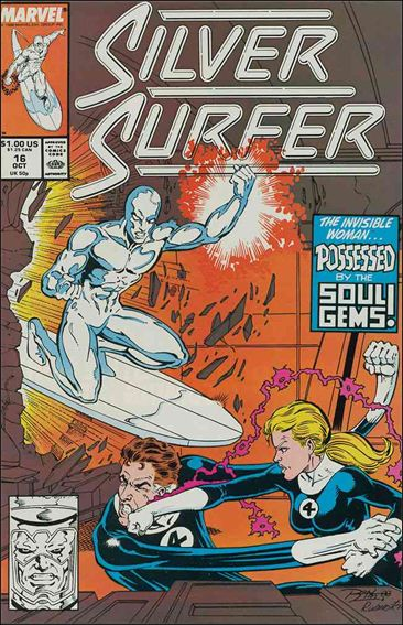 Silver Surfer (1987) 16-A by Marvel