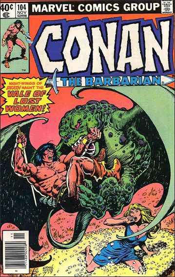 Conan the Barbarian (1970) 104-A by Marvel
