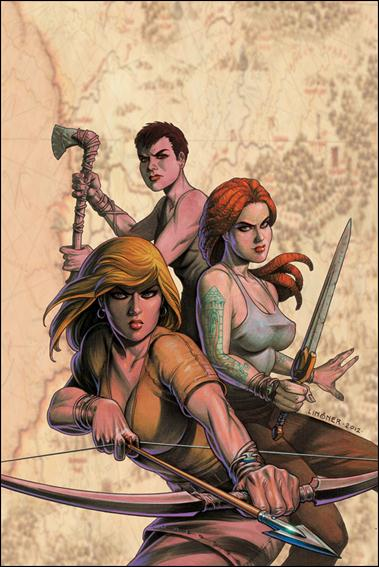 Damsels 4-B by Dynamite Entertainment