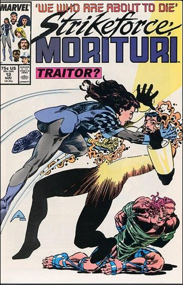 Strikeforce: Morituri 12-A by Marvel