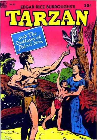 Tarzan (1948) 6-A by Dell