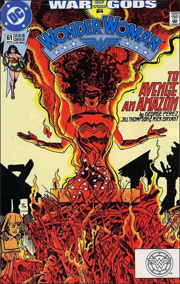 Wonder Woman (1987) 61-A by DC