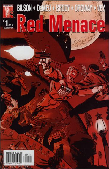Red Menace 1-B by WildStorm