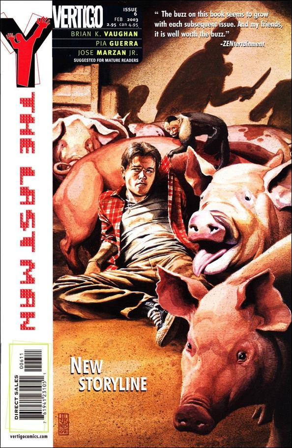 Y: The Last Man 6-A by Vertigo