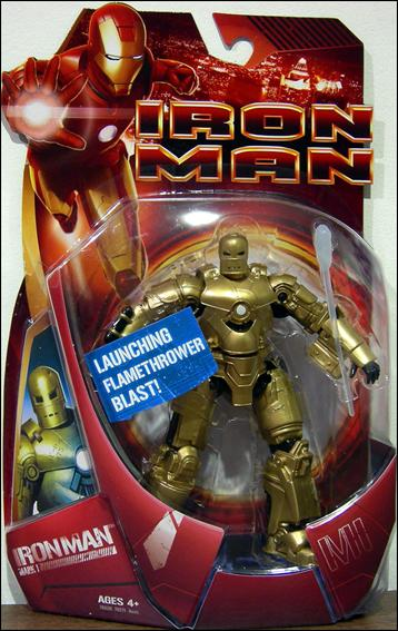 Iron Man (Movie) Iron Man (Mark 01 - Gold) by Hasbro