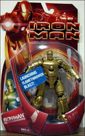 Iron Man (Movie) Iron Man (Mark 01 - Gold)