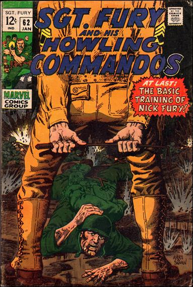 Sgt. Fury and His Howling Commandos 62-A by Marvel