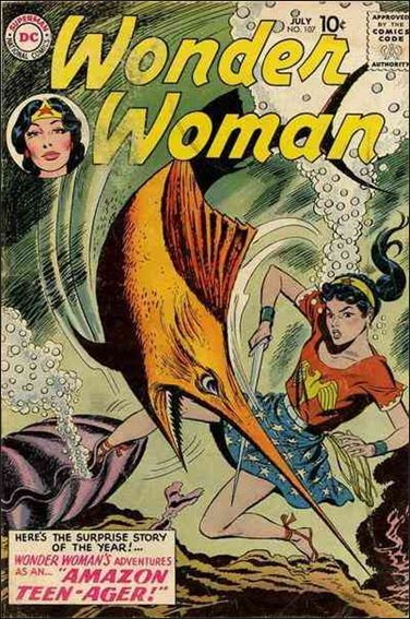 Wonder Woman (1942) 107-A by DC