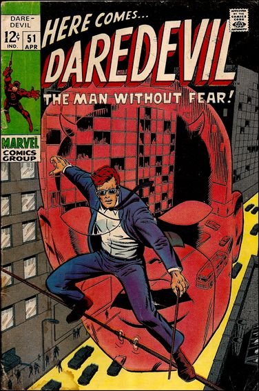 Daredevil (1964) 51-A by Marvel