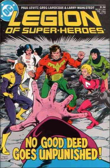 Legion of Super-Heroes (1984) 19-A by DC