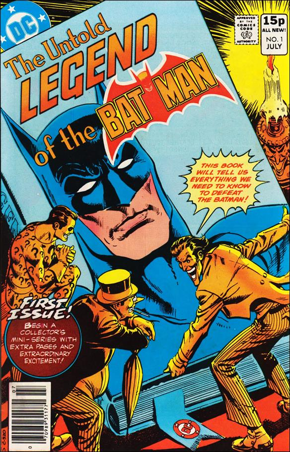 Untold Legend of the Batman 1-B by DC