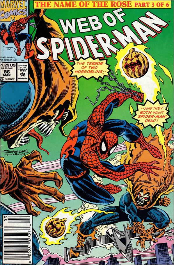 Web of Spider-Man (1985) 86-A by Marvel