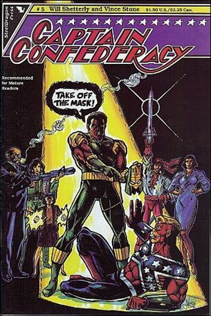 Captain Confederacy (1986) 5-A