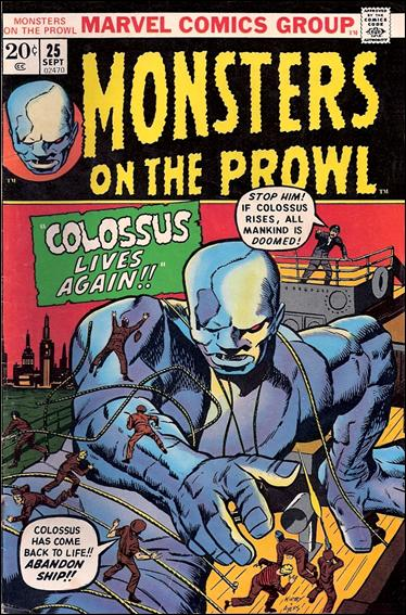 Monsters on the Prowl 25-A by Marvel