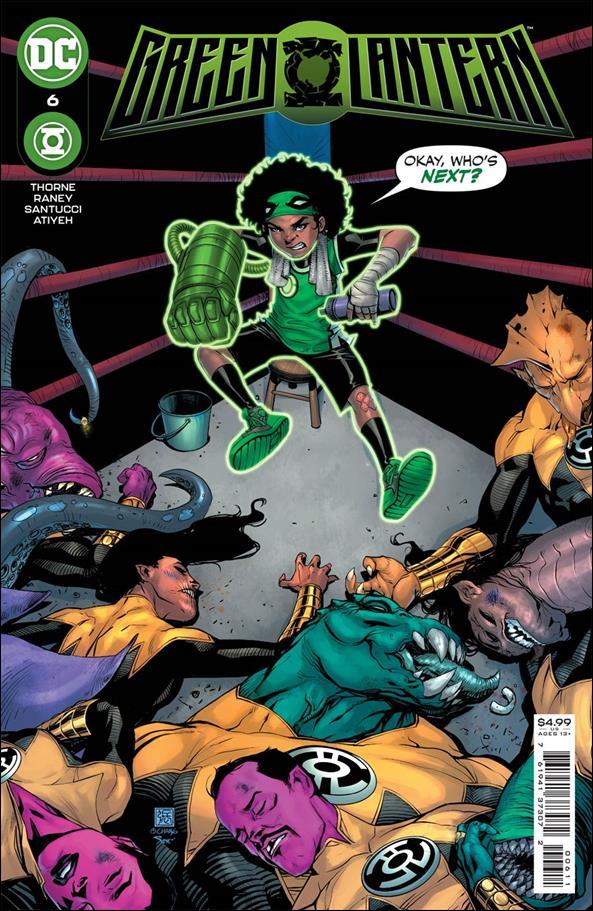 Green Lantern (2021) 6-A by DC