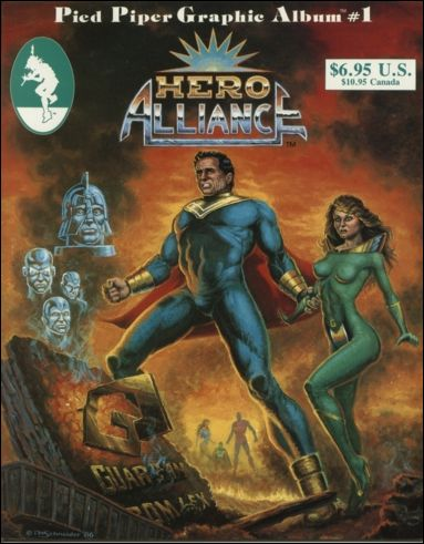 "Hero Alliance: ""End Of The Golden Age"" 1-A by Pied Piper"