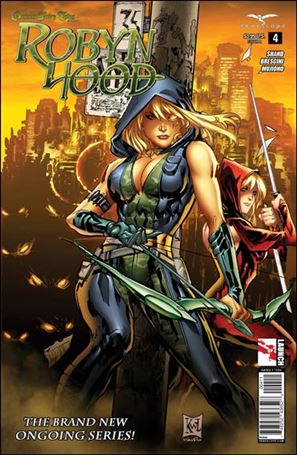 Grimm Fairy Tales Presents Robyn Hood (2014) 4-A