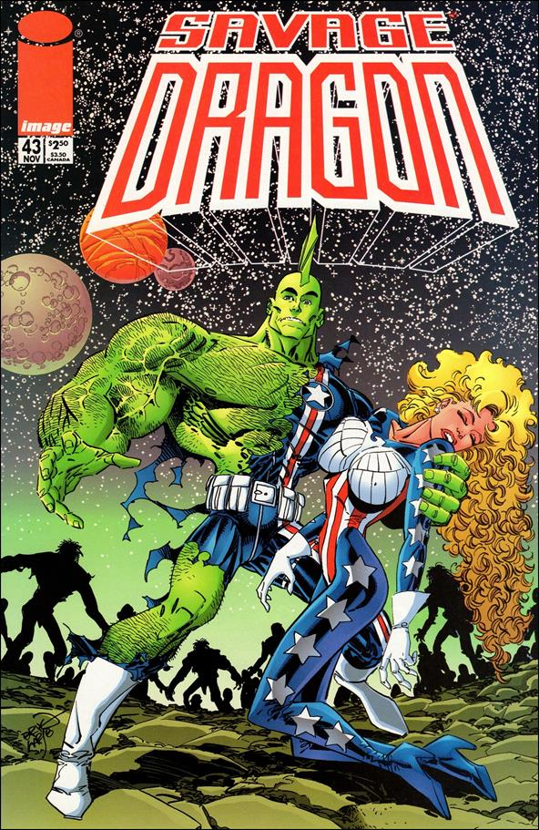 Savage Dragon (1993) 43-A by Image