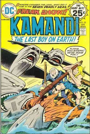 Kamandi, the Last Boy on Earth 25-A by DC