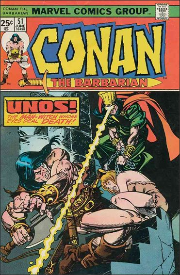 Conan the Barbarian (1970) 51-A by Marvel
