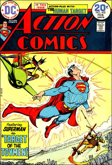 Action Comics (1938) 432-A by DC