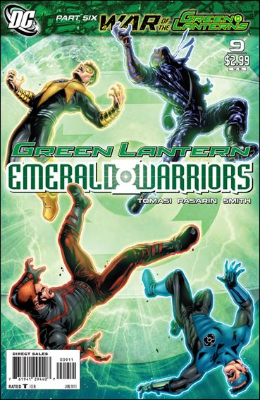 Green Lantern: Emerald Warriors 9-A by DC
