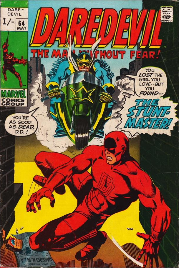 Daredevil (1964) 64-B by Marvel