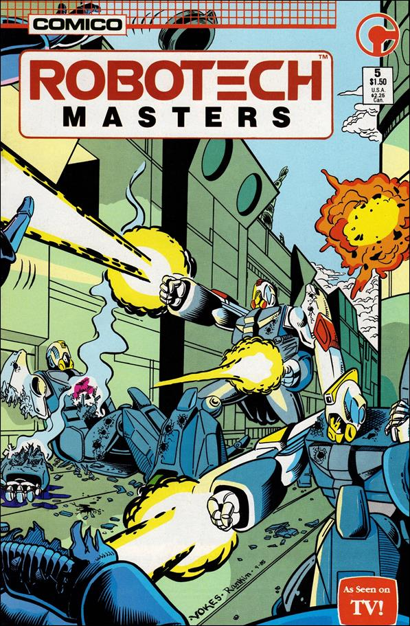 Robotech: Masters 5-A by Comico
