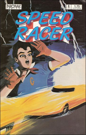 Speed Racer (1987) 8-A by Now Comics