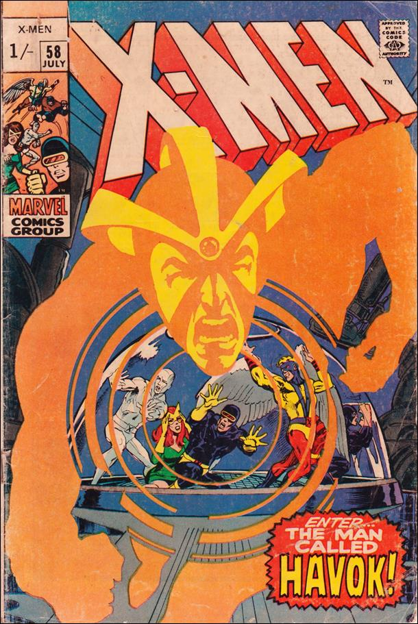 X-Men (1963) 58-B by Marvel