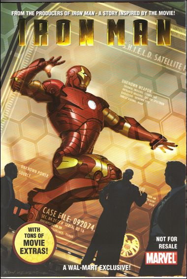 Iron Man Wal-Mart Custom Comic 0-A by Marvel