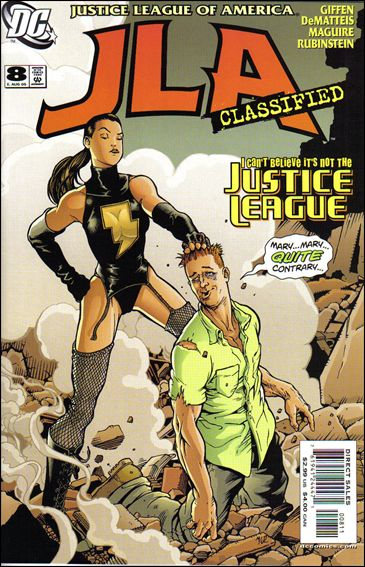 JLA: Classified 8-A by DC