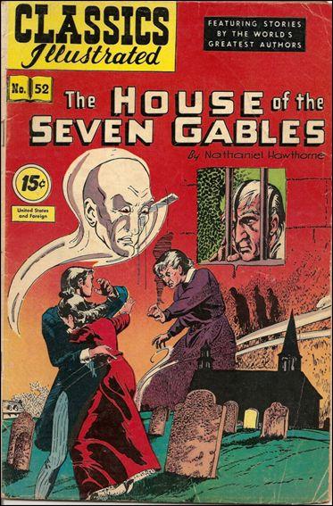 Classic Comics/Classics Illustrated 52-C by Gilberton