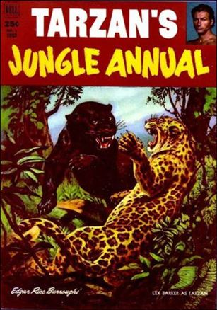 Tarzan's Jungle Annual 1-A