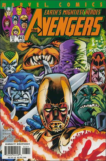Avengers (1998) 43-A by Marvel