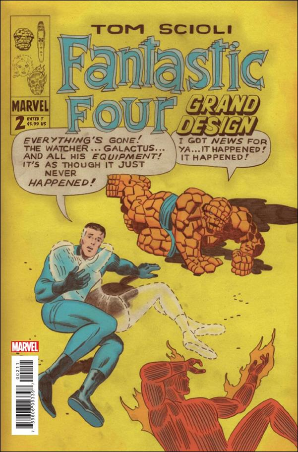 Fantastic Four Grand Design 2-A by Marvel