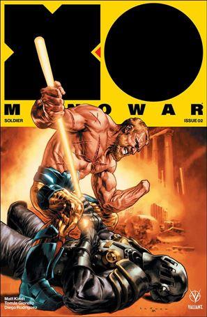 X-O Manowar (2017) 2-A