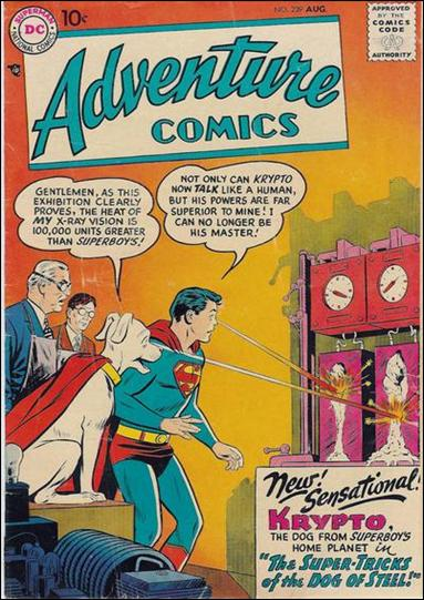 Adventure Comics (1938) 239-A by DC
