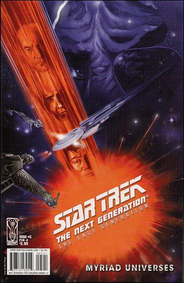 Star Trek: The Next Generation: The Last Generation 5-B by IDW