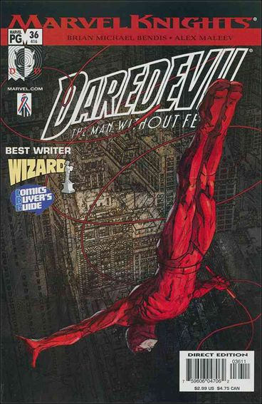 Daredevil (1998) 36-A by Marvel