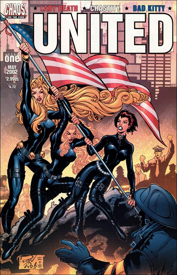 Lady Death/Chastity/Bad Kitty: United 1-A by Chaos! Comics