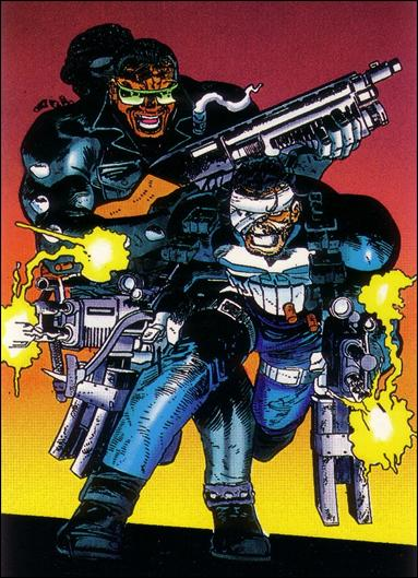 Punisher: Guts and Gunpowder (Base Set) 80-A by Comic Images