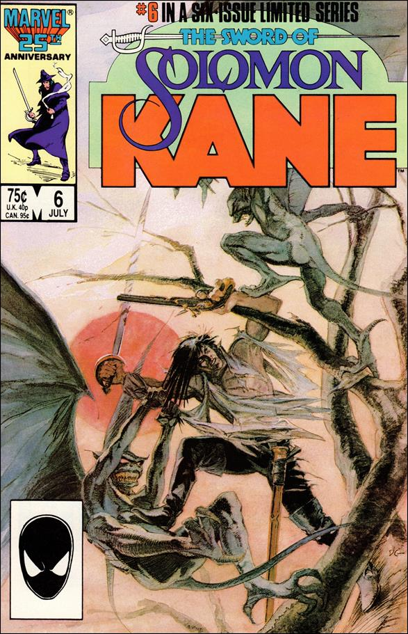 Solomon Kane (1985) 6-A by Marvel