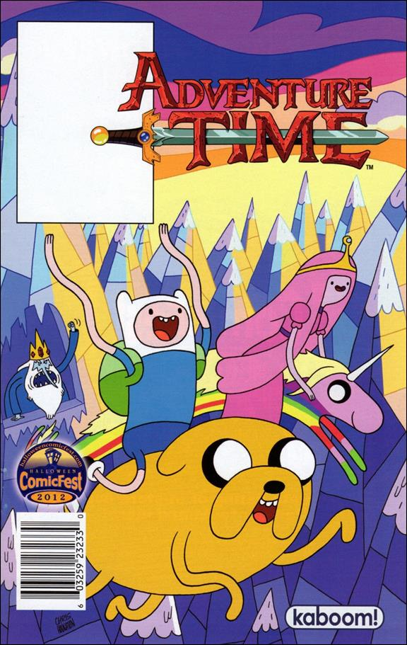 Adventure Time Halloween Ashcan nn-A by Kaboom!