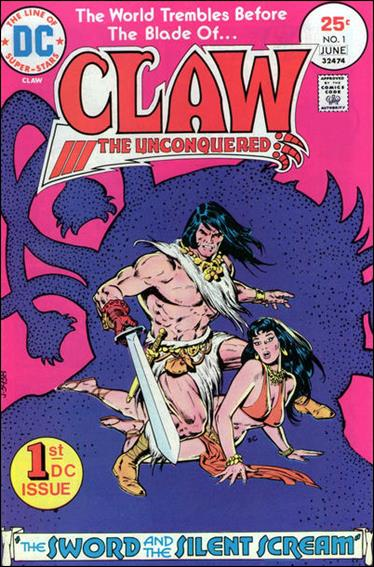 Claw the Unconquered (1975) 1-A by DC