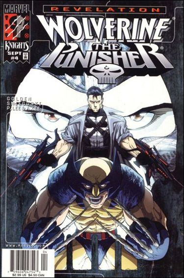 Wolverine/Punisher Revelation 4-A by Marvel